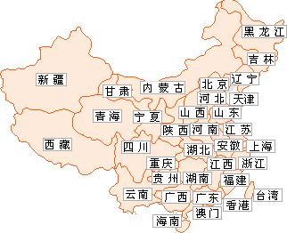 中国阀门企业分布图